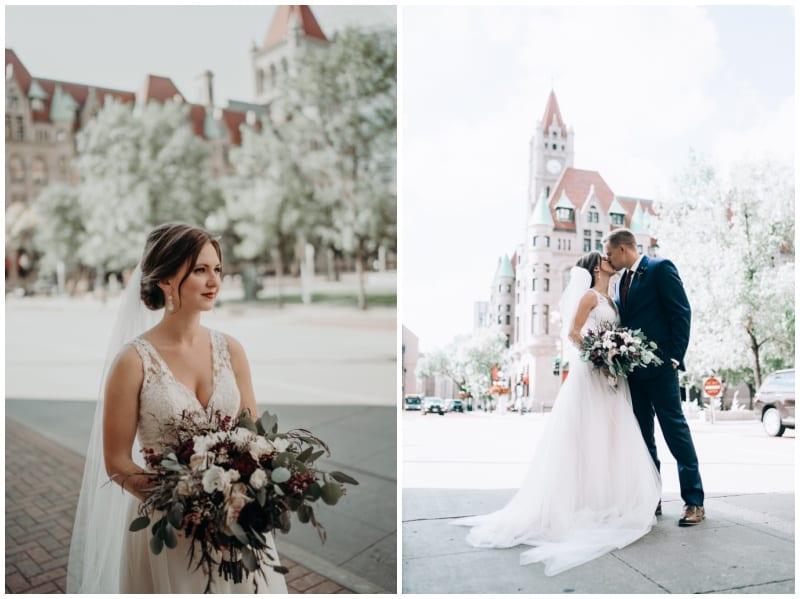 Landmark Center, Landmark Center wedding, indoor wedding, cranberry wedding, fall wedding, fall wedding floral, fall wedding flowers, Minnesota wedding florist, Minneapolis wedding florist, Saint Paul wedding florist, Artemisia Studios