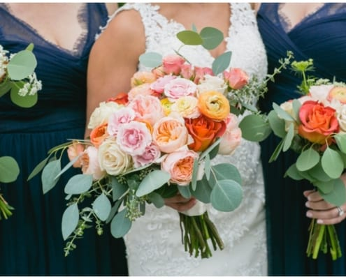 fall wedding, Erin Johnson Weddings, Mill City Museum, warm wedding floral, coral wedding floral, navy bridesmaids dresses, fall wedding bouquet, fall floral, fall bridal bouquet, pink bridal bouquet, Artemisia Studios, Minneapolis wedding florist, Minnesota wedding florist