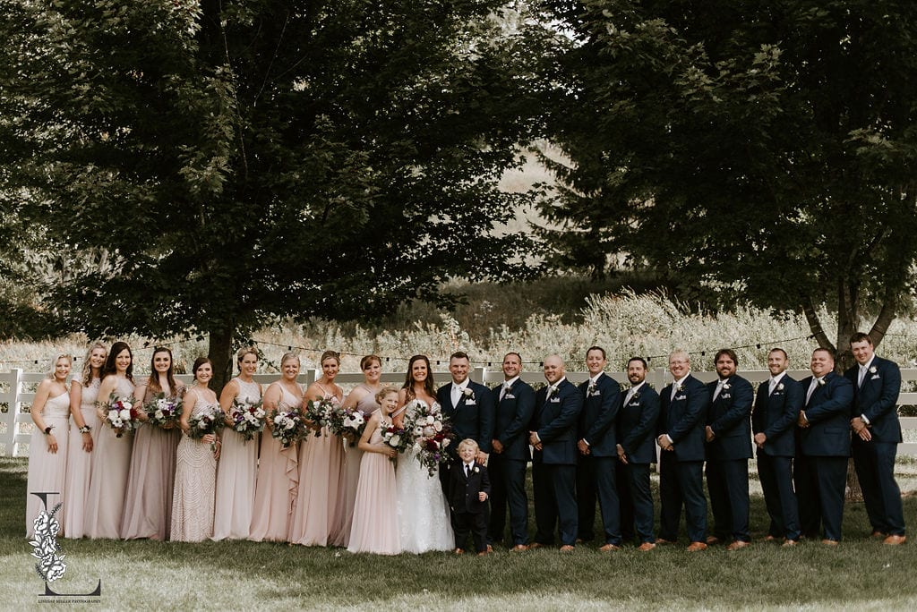 Birch Hill Barn, Lindsay Miller Photography, barn wedding, Wisconsin wedding, Wisconsin wedding florist, Minnesota wedding florist, Minneapolis wedding florist, blush wedding, blush wedding floral, fall wedding floral, white wedding floral, summer wedding, Wisconsin barn wedding, Artemisia Studios