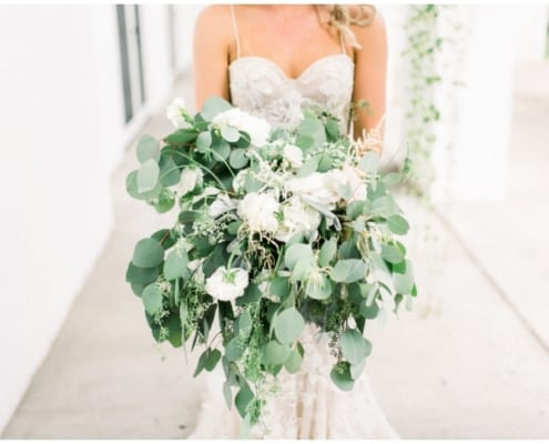 Woods Chapel, Lafayette Club, summer wedding, green and white wedding floral, green and white bouquet, Minnesota wedding florist, Minneapolis wedding florist, Artemisia Studios, Trish Allison Photography, blue wedding, wedding inspiration, Minnesota bride