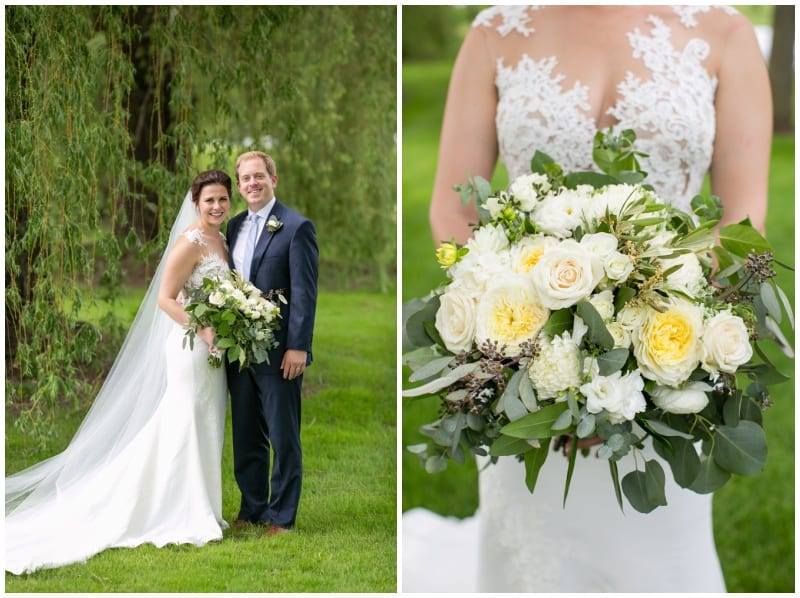Oak Glen Golf Course, Kendra Oxendale Photography, Artemisia Studios, Minneapolis wedding florist, Minnesota wedding florist, yellow flowers, purple flowers, golf club wedding, wedding inspiration, outdoor wedding, greenery