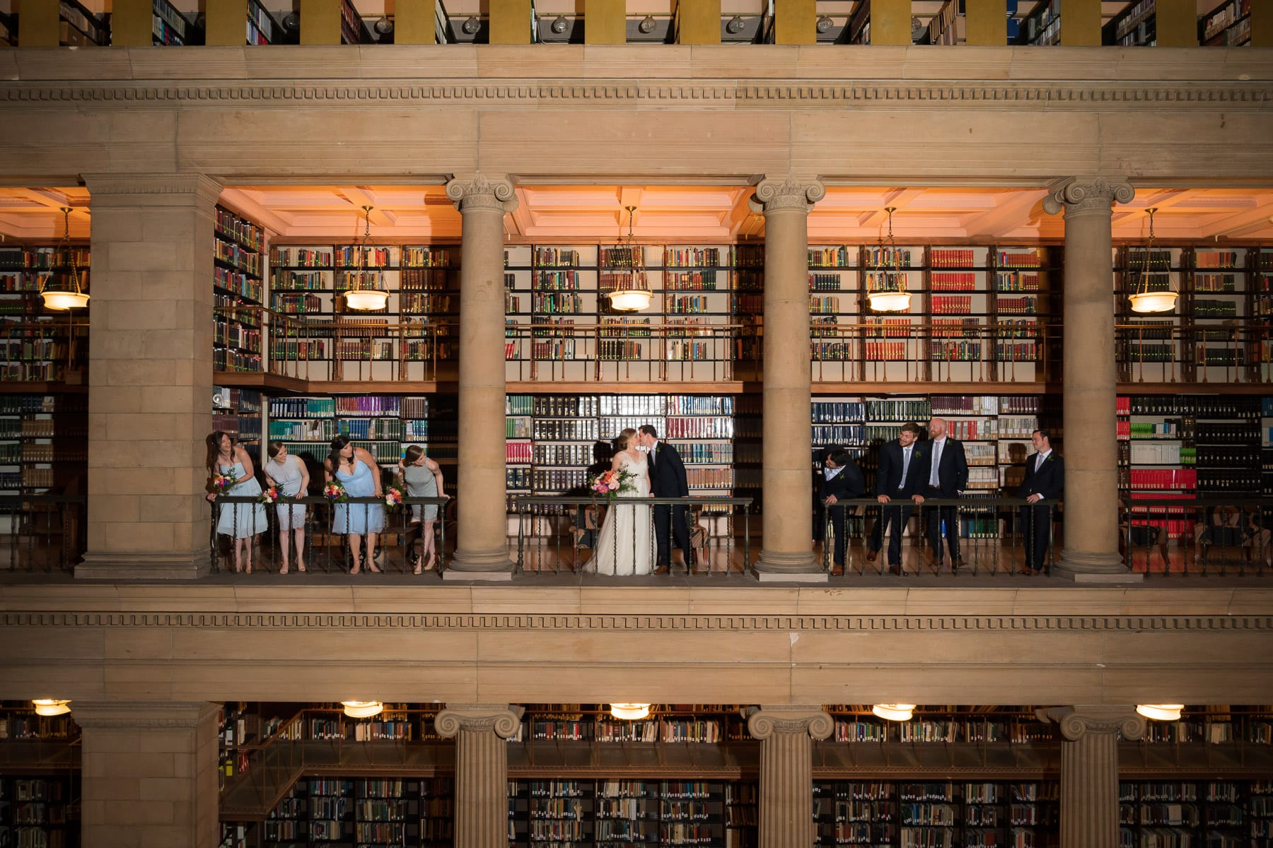 James J Hill Center, James J Hill Library, Glen Stubbe Photography, bright flowers, colorful flowers, summer wedding, summer floral, summer flowers, James J Hill wedding florist, Artemisia Studios, Minneapolis wedding florist, Saint Paul wedding florist, light blue bridesmaids, bright wedding floral