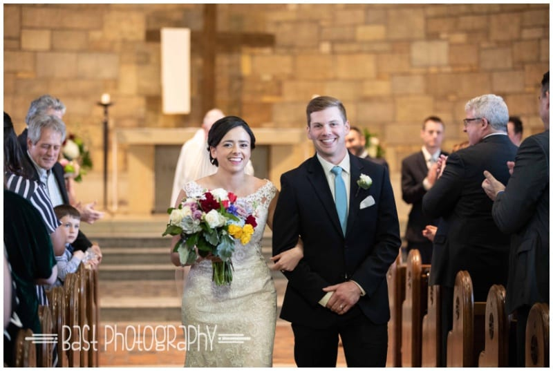 Bast Photography, Oak Ridge Golf Course, Our Lady of Victory Chapel, St. Kate's, spring flowers, spring floral, colorful bouquet, colorful flowers, bold bouquet, Artemisia Studios, Minneapolis wedding florist, Twin Cities wedding florist