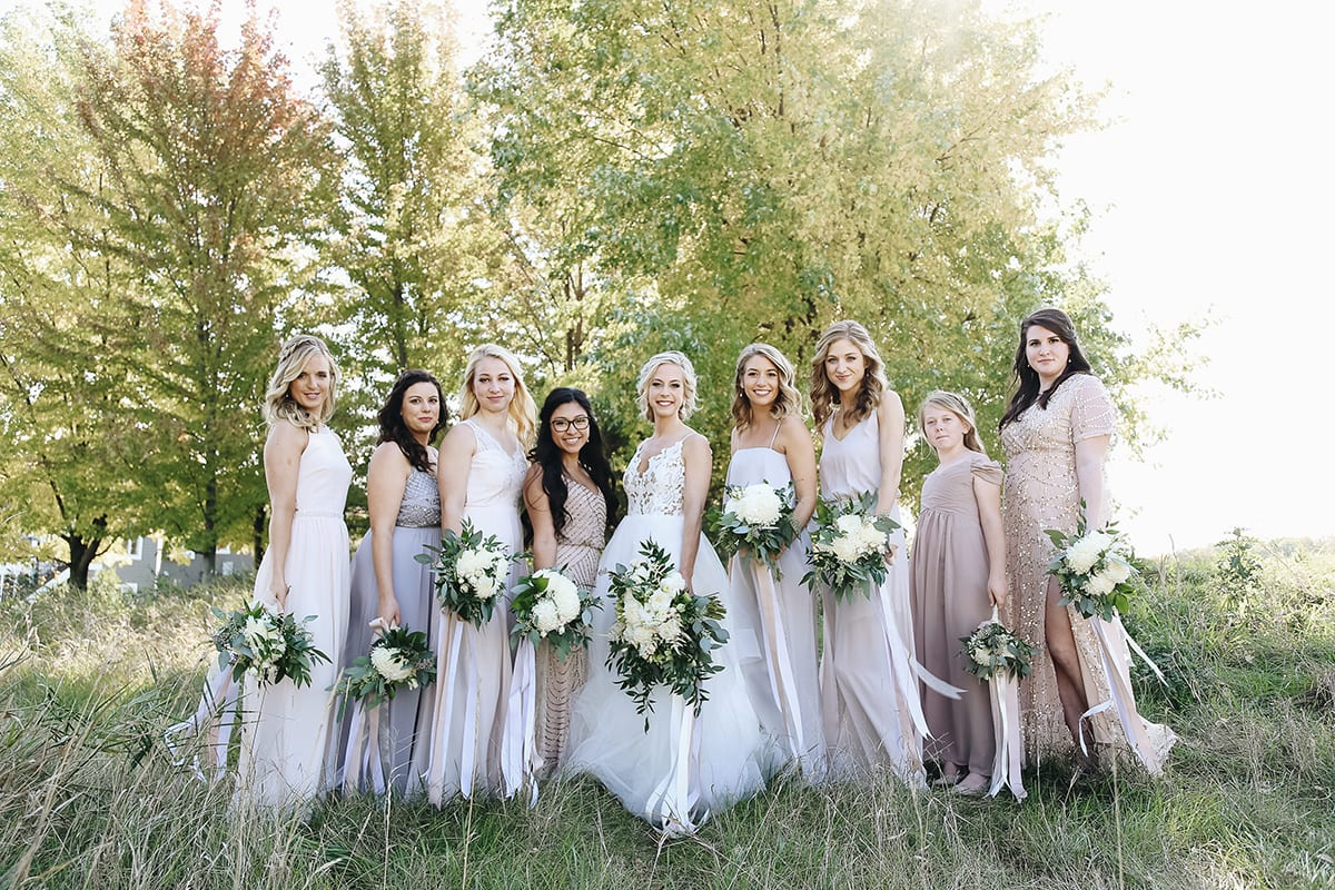 Wilds Golf Club, Prior Lake wedding, golf club wedding, fall wedding, fall wedding floral, blush wedding, navy wedding, blush and navy wedding, Samantha Willock Photography, wedding floral, wedding flowers, Minneapolis wedding florist, Minnesota wedding florist, Artemisia Studios