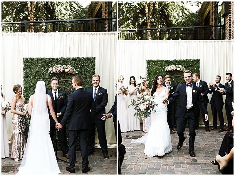 Laura Rae Photography, Minneapolis Event Centers, Minnesota wedding florist, Artemisia Studios, outdoor ceremony, floral decor, wedding flowers