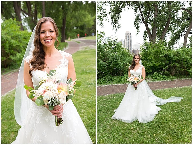 Lara Leimbach Photography, Aster Cafe, spring wedding, blush bridesmaids, Minneapolis wedding, Minnesota wedding, spring bouquet, spring flowers, Artemisia Studios, Minneapolis wedding florist, Minnesota wedding florist, Aster Cafe wedding florist