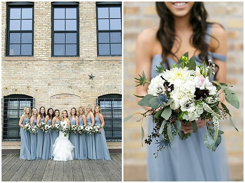 Betsy Wall Photography, Minneapolis Event Centers, spring wedding, spring flowers, spring wedding floral, blue wedding, wedding inspiration, Minneapolis wedding, Minnesota wedding, anemones, Minneapolis wedding florist, Minnesota wedding florist, Artemisia Studios