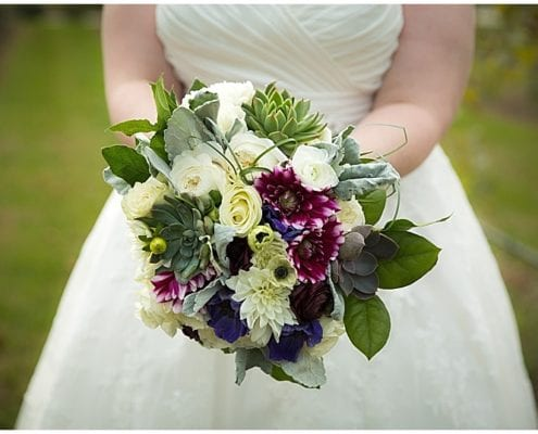 Sarah Primus Photography, Villa Bellezza Vineyard, vineyard wedding, Wisconsin wedding, wedding inspiration, wedding flowers, fall wedding, autumn wedding, fall flowers, bride, wedding gown, wedding dress, bridal bouquet, purple flowers