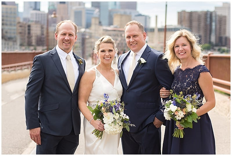 Gina Vick Photography, Aster Cafe, summer wedding, navy wedding, orange wedding, outdoor wedding, Minneapolis wedding, Minneapolis wedding florist, Artemisia Studios, wedding floral, summer floral, summer wedding flowers