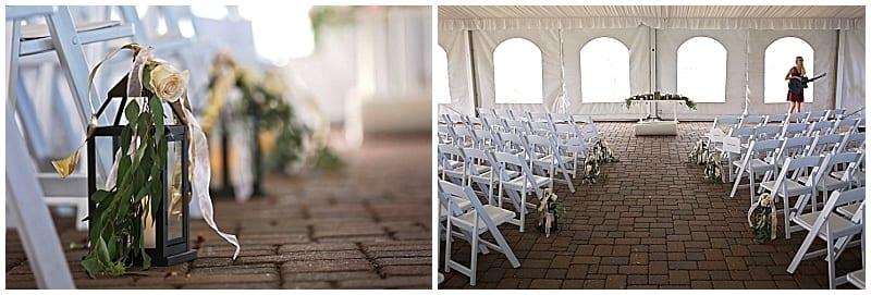 Craig Dirkes Photography, Stoneridge Golf Club, Minnesota wedding, Minneapolis wedding florist, wedding florist, Artemisia Studios, flowers, floral, wedding floral, wedding ceremony, tent wedding, aisle decor