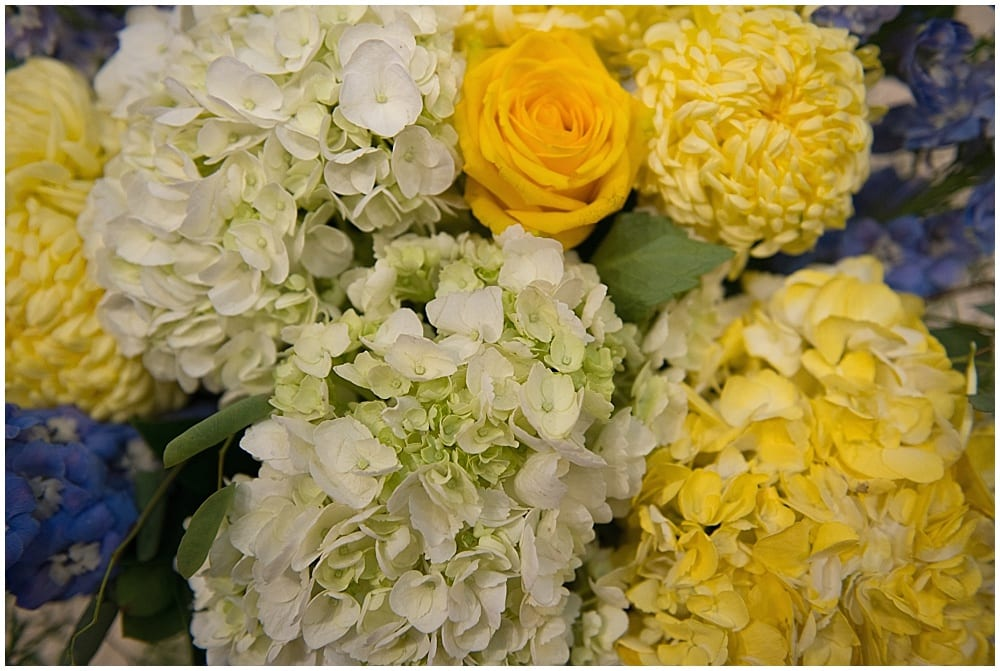 Photography by Duke, Downtown Marriott, Minneapolis wedding, wedding, wedding decor, wedding floral, blue and yellow wedding, spring wedding, wedding floral, spring wedding floral, flowers, floral, Artemisia studios, Minneapolis wedding florist