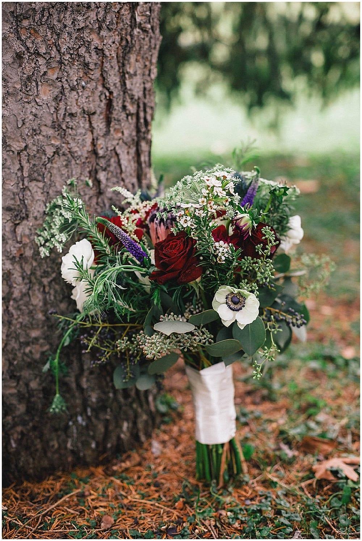 Silverwood Park Winter Wedding Floral Kate Dan