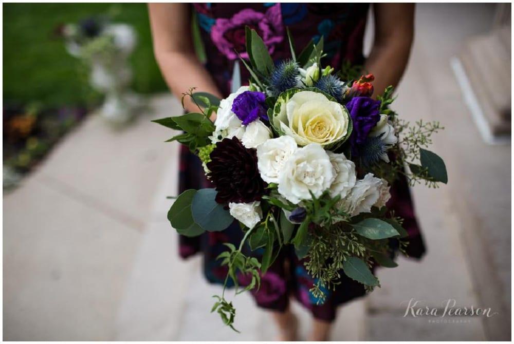 Kara Pearson Photography, Semple Mansion, fall wedding, Minneapolis wedding, fall flowers, fall floral, Artemisia Studios, boutonnieres, florist, bridal bouquet, bridesmaid bouquet