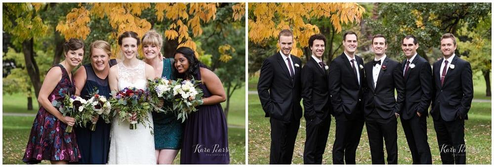 Kara Pearson Photography, Semple Mansion, fall wedding, Minneapolis wedding, fall flowers, fall floral, Artemisia Studios, boutonnieres, florist, bridal bouquet