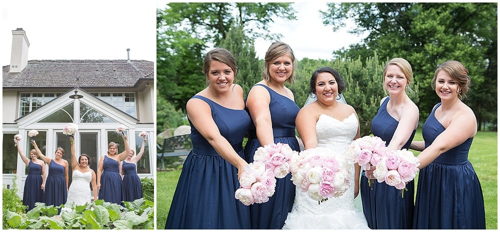 bridesmaids, bridesmaids bouquets, Waconia wedding, bridal bouquet, flowers, floral, wedding
