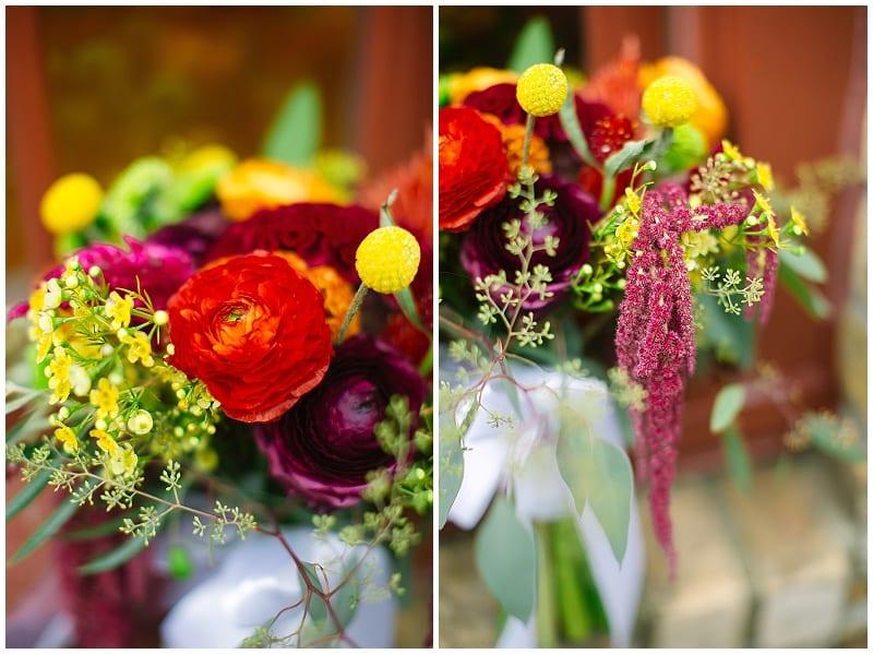 Vic's Dining, wedding, reception, flowers, floral, centerpieces, bouquet, summer flowers
