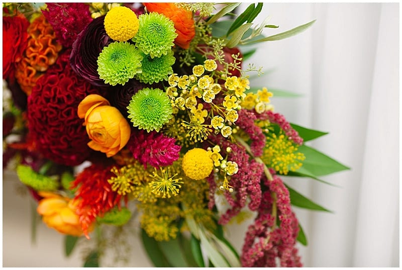 Westminster Presbyterian Church, flowers, bridal bouquet, bright flowers, summer flowers, summer wedding, bride, Electric Lime Photography