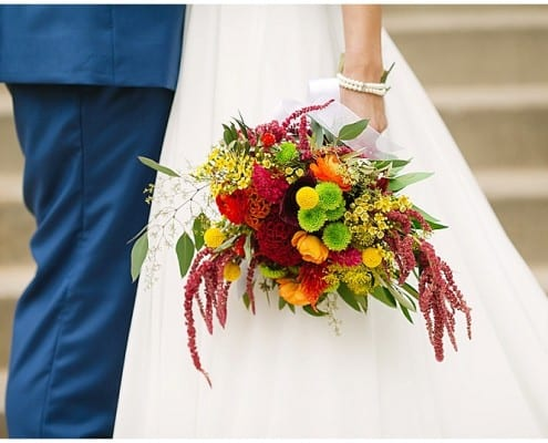 Westminster Presbyterian Church, bride, groom, portraits, wedding, flowers, summer flowers, warm flowers, summer wedding