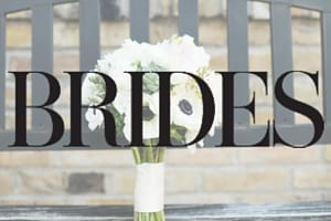 Brides magazine, published in, as seen on, published wedding florist, wedding, flowers, floral