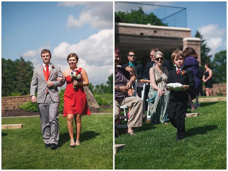 Olympic Hills Golf Club, wedding, flowers, bridesmaids bouquet, floral, ring bearer