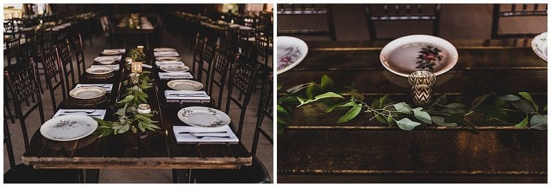 View More: http://julesandcait.pass.us/kaylalincoln Hope Glen Farm, flowers, floral, head table, harvest table