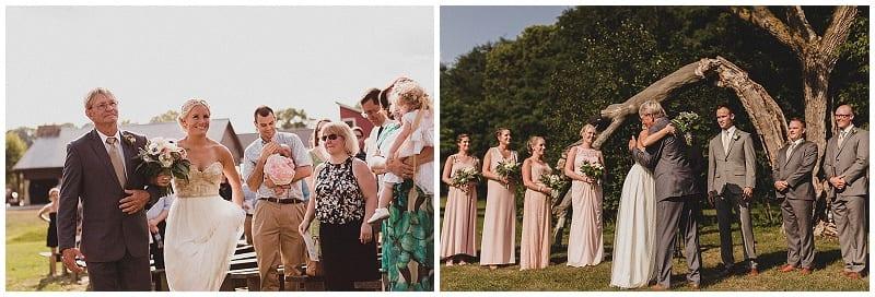View More: http://julesandcait.pass.us/kaylalincoln Hope Glen Farm, bride, ceremony, wedding, bridal bouquet, flowers