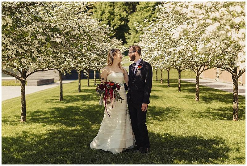 Jules + Cait Photography, Lakewood Cemetery Memorial Chapel, Lakewood Cemetery Chapel, bride, groom, fall wedding, bridal bouquet, flowers, floral