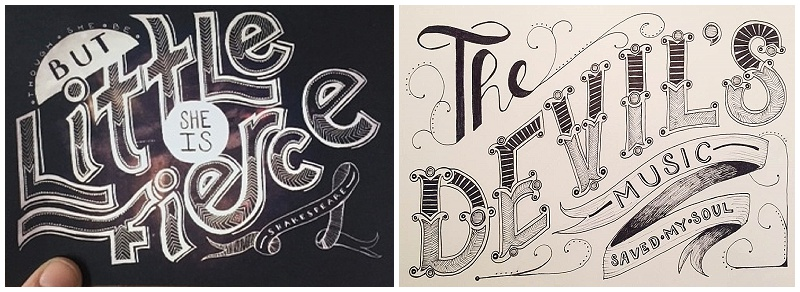 Artemisia Studios, Molly, Calligraphy 3