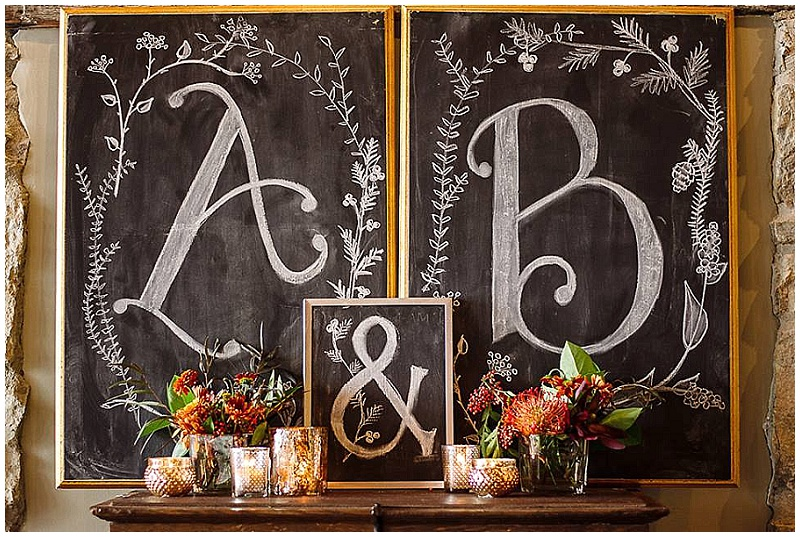 J.Louise Photography, Rachel Marie Photograpie, Aster Cafe, Artemisia Studios, Aster Cafe styled shoot, weddings, wedding signs, chalkboard signs, wedding decor